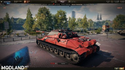 IS-7 Racing Pattern Skin 1.4 [1.4.0.1], 3 photo